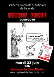 L'agenda Danger Ecole 2009/2010