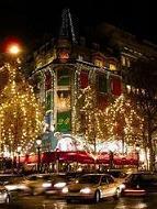 La Maison de l'Alsace dans sa magnifique parure de Noël