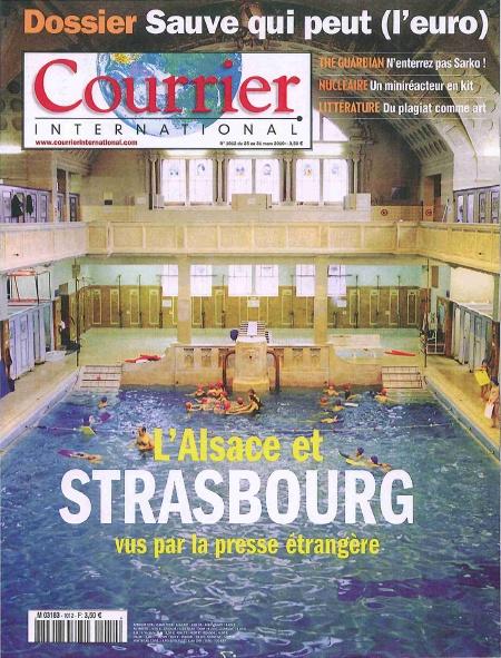 Le Courrier International consacre un dossier à l'Alsace vue par la presse étrangère.