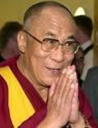 Le Dalaï Lama à Strasbourg, le 12 août 2008