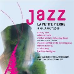 Affiche du festival de jazz à la Petite-Pierre
