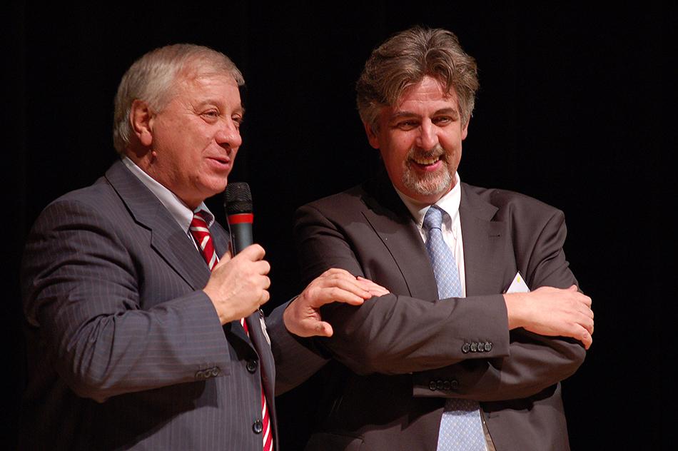 La Maison de l'Alsace était à l'hônneur, grâce à la participation de Jean-Daniel Zeter et Bernard Kuentz.