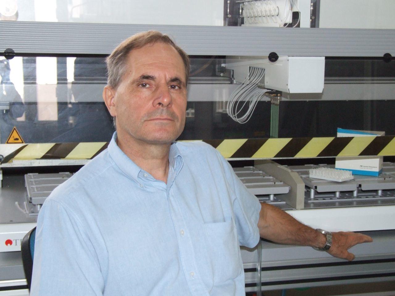 Jean Weissenbach à l'Institut de Génomique