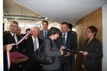 7 mai 2010 - Inauguration de la Maison de l'innovation et de l'entreprise.