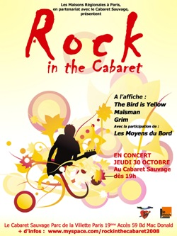 Rock in the Cabaret 2008