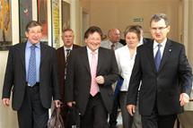 Visite d'une délégation du Conseil Général du Bas-Rhin à Katowice en Pologne